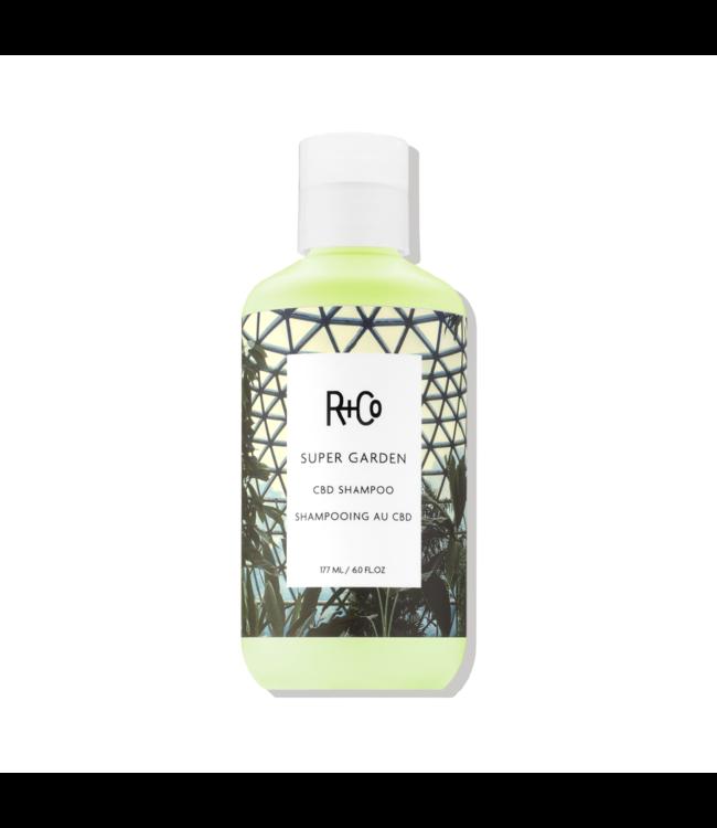 R+CO Shampooing Super Garden au CBD 177ml