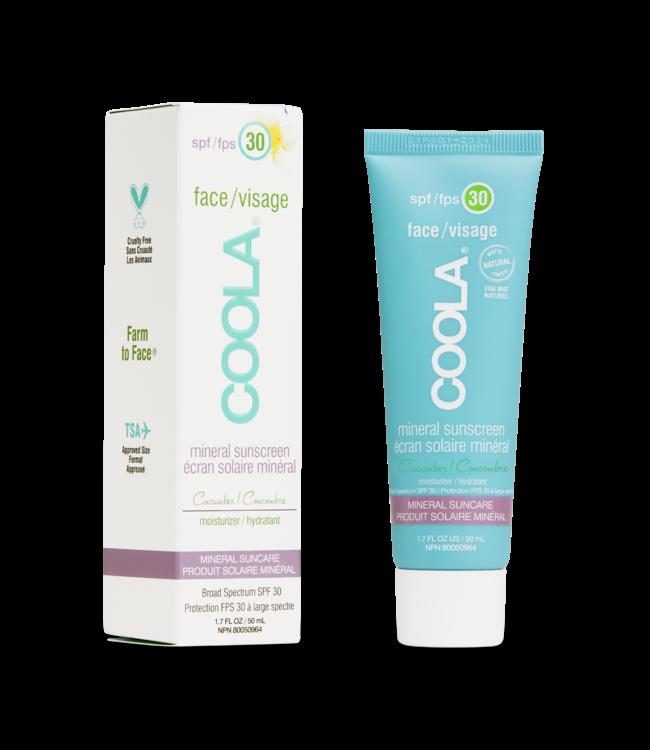 COOLA Mineral Sunscreen SPF 30 Matte Cucumber 50ml