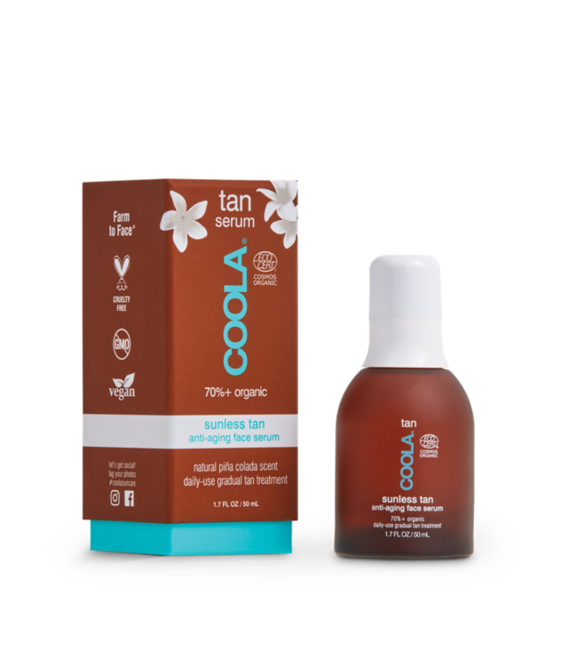 COOLA Sérum visage anti-âge bronzante Sunless Tan 50ml