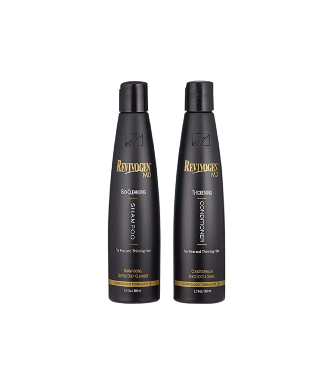 Revivogen Duo shampooing MD Bio-Cleansing + conditionneur