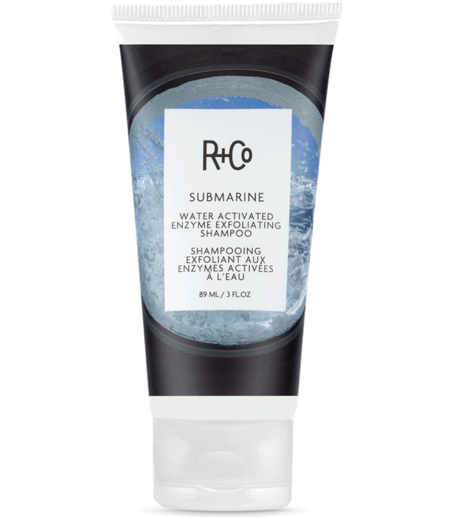R+CO Shampooing exfoliant enzymes activés à l'eau Submarine 89ml
