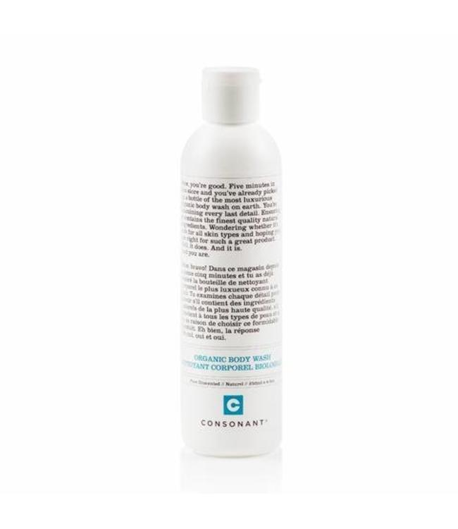 Consonant Organic Body Wash - Pure Unscented 250ml