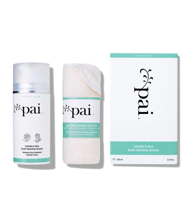 Pai Skincare Camellia & Rose Gentle Hydrating Cleanser 100ml + cloth