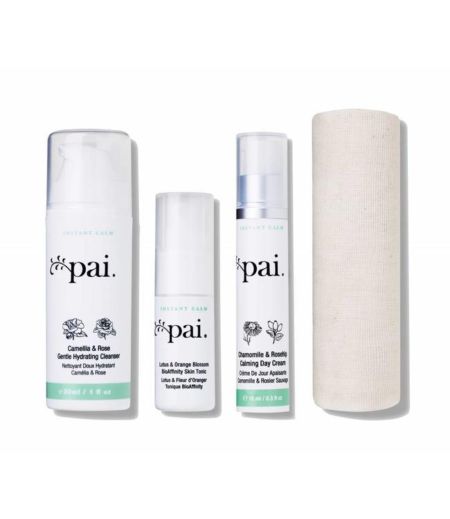 Pai Skincare  Kit de Voyage-Les Essentiels pour Peau Sensible 47ml