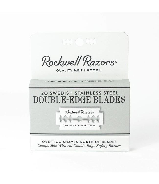 Rockwell Razors Double Edge Razor Blades - 20 Pack