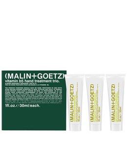 (MALIN+GOETZ) Trio de soins traitants pour les mains à la vitamine B5