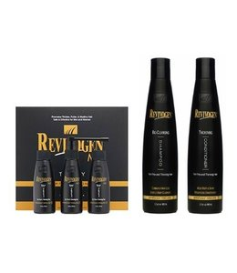Revivogen Bio-Cleansing men's shampoo + conditioner + treatment kit