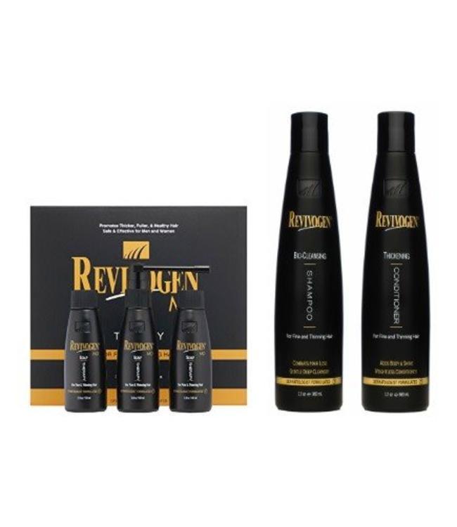 Revivogen MD Bio-Cleansing Shampoo + Conditioner + Treatment Kit