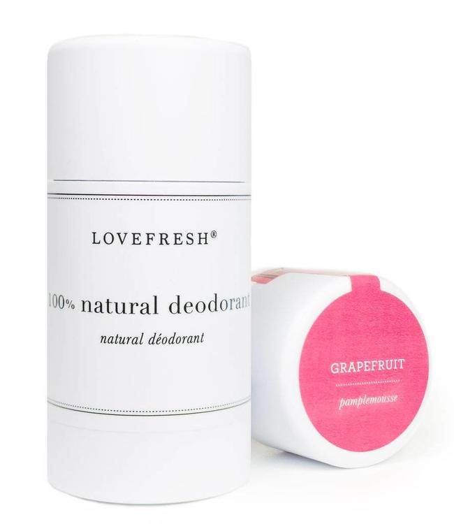 LoveFresh Grapefruit Deodorant Stick 3.6oz