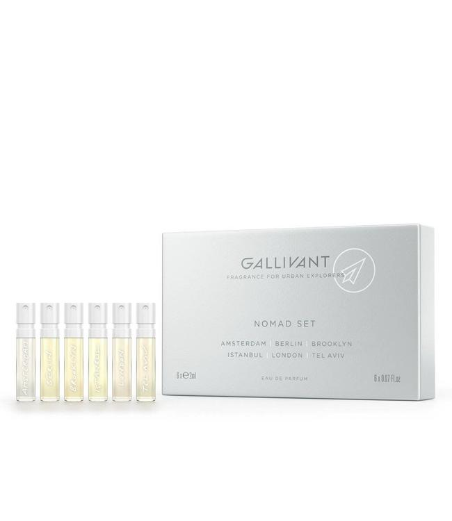 Gallivant Nomad  Discovery Set (6 x 2ml EDP)