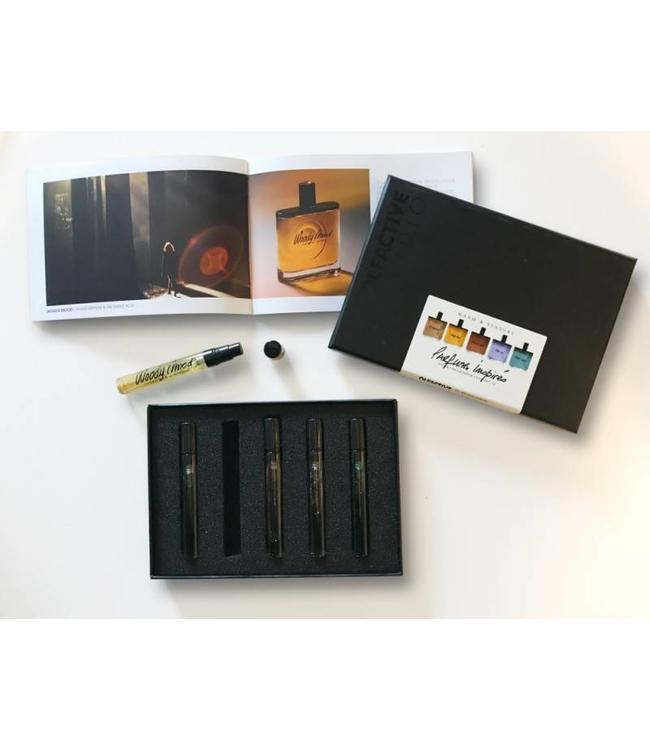 Olfactive Studio Kit découverte Warm & Sensual 5 échantillons 4ml