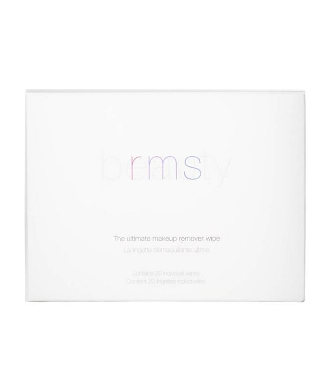 RMS Beauty Ultimate Makeup Remover Wipes 20 per box