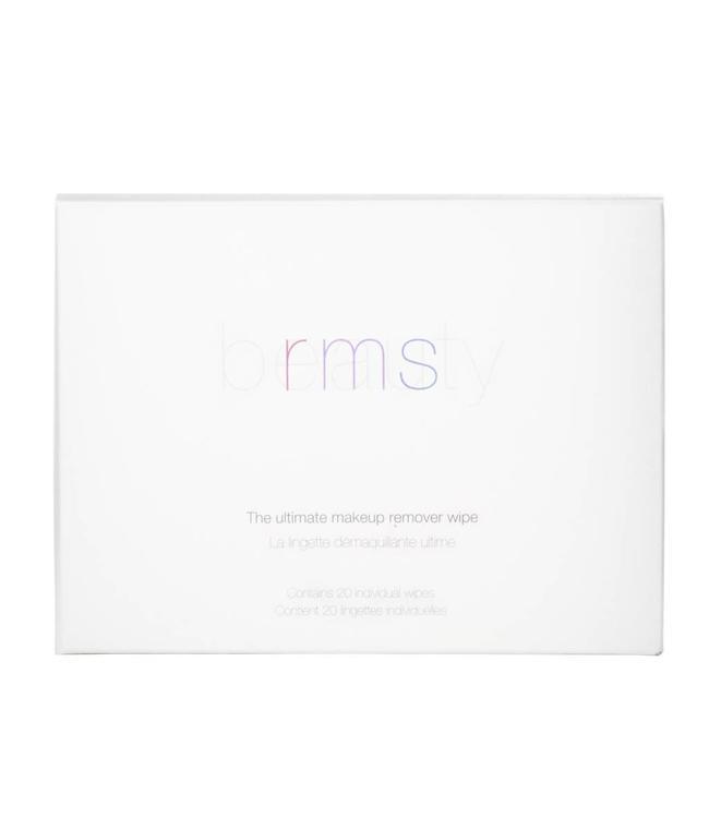 RMS Beauty Lingettes démaquillantes ultimes (vingt par boîte)