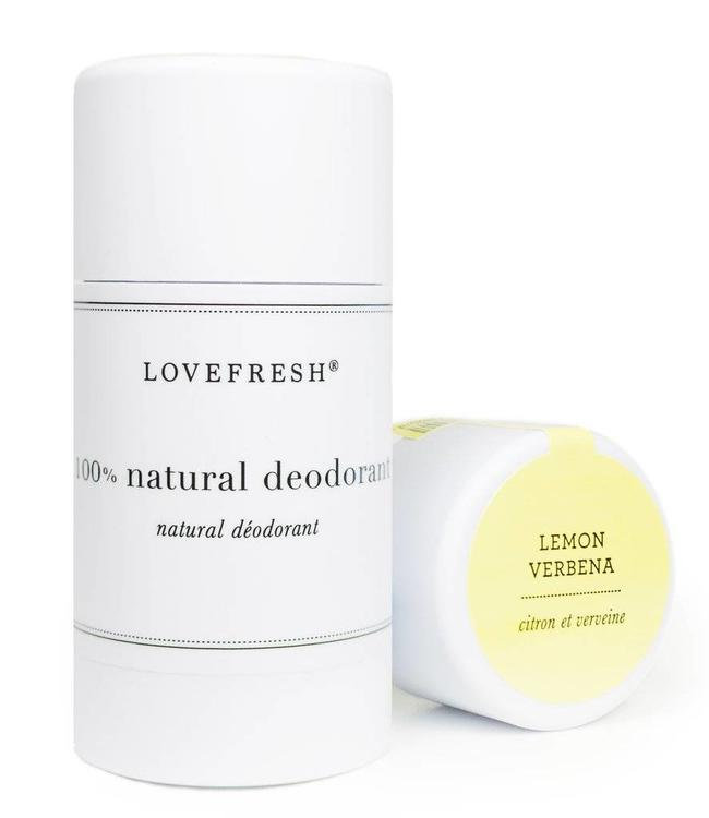 LoveFresh Citron et Verveine Déodorant 3.6oz
