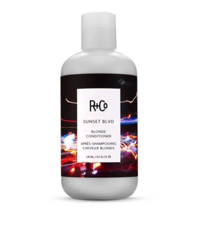 R+CO Après-shampooing Cheveux Blonds SUNSET BLVD 241ml