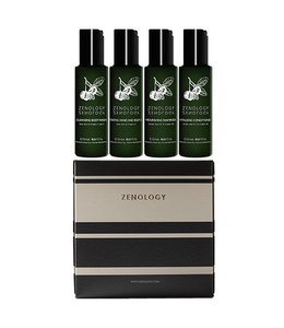 Zenology Citrus Nobilis | Mandarin Green Tea Jet Set Kit 4 x 50 ml