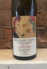 2016 Bloomer Creek Vineyard Tanzen Dame Morehouse Road Dry Riesling, 750ml