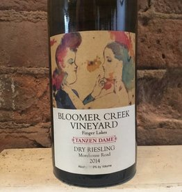 2016 Bloomer Creek Vineyard Tanzen Dame Morehouse Road Dry Riesling, 750ml