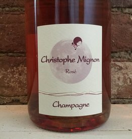 NV Christophe Mignon Pur Meunier Brut Rose,750ml