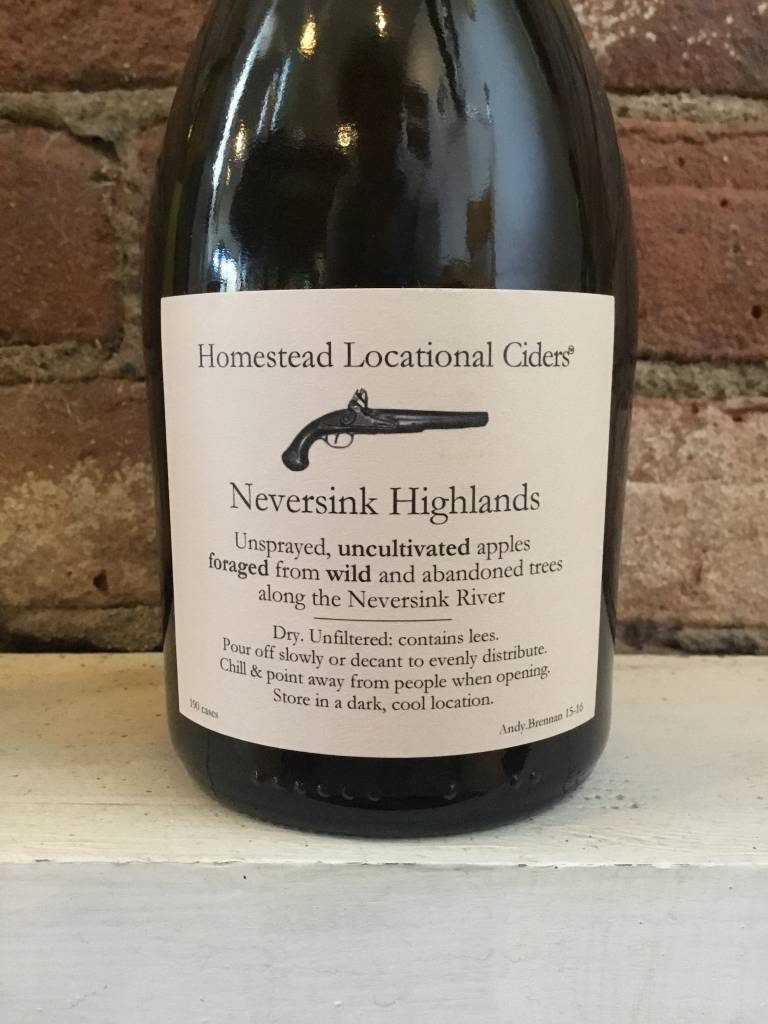 "Aaron Burr ""Neversink Highlands"" Cider, 500ml"