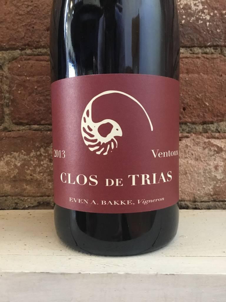 2013 Clos de Trias Ventoux Rouge,750ml