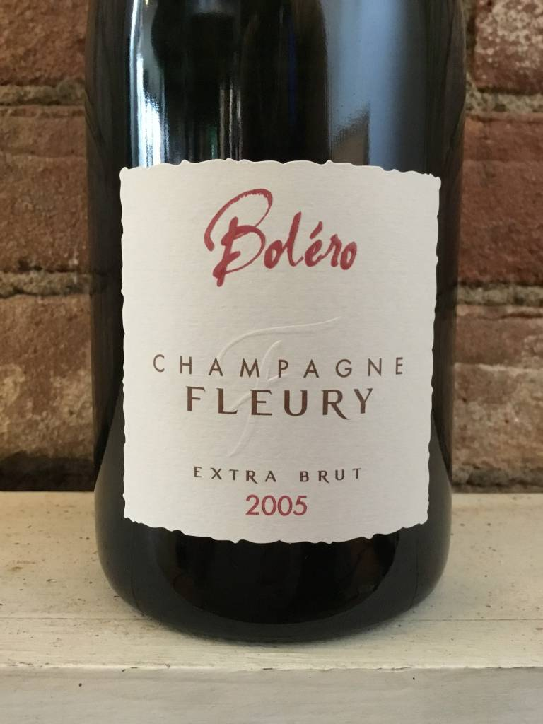 "2005 Champage Fleury ""Bolero"" Extra Brut, 750ml"
