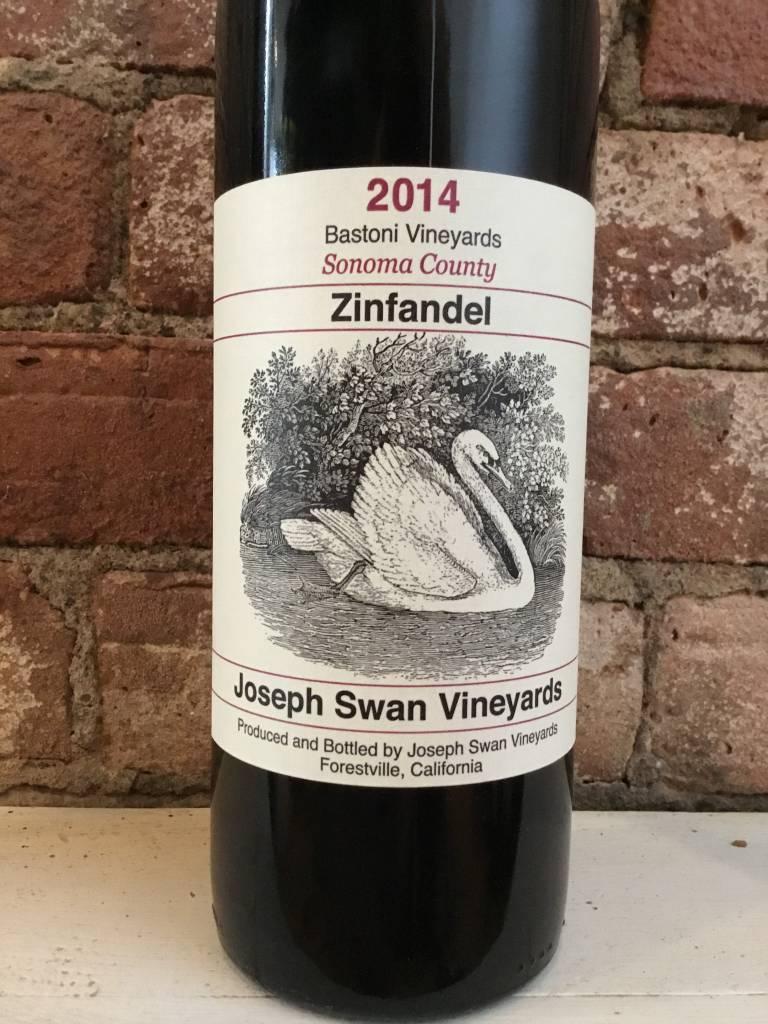 "2014 Joseph Swan ""Bastoni Vineyards"" Zinfandel, 750ml"