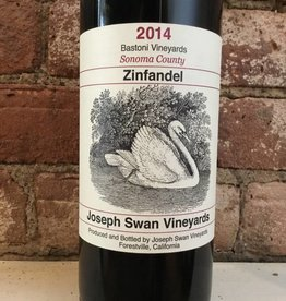 "2014 Joseph Swan ""Bastoni Vineyards"" Zinfandel, 750ml"