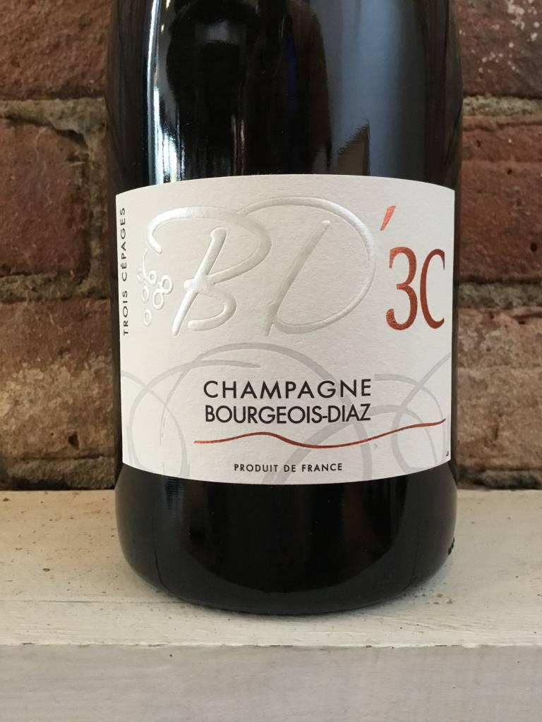 NV Champagne Bourgeois-Diaz 3C, 750ml