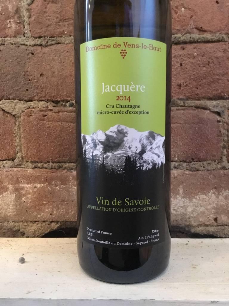 """2014 Domaine de Vens Le Haut Jacquere """"Cru Chautagne"""",750ml"""