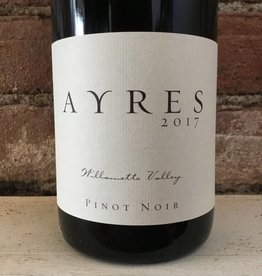 2017 Ayres Pinot Noir Willamette Valley,750ml