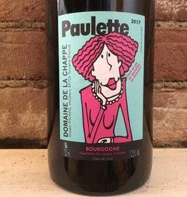 """2017 Domaine de la Chappe Bourgogne Rouge """"Paulette"""", 750ml"""