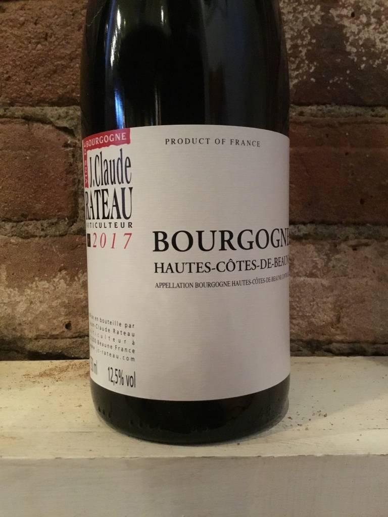 2017 Jean-Claude Rateau Hautes Cotes de Beaune Rouge, 750ml