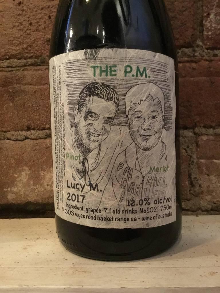 """2017 Lucy Margo """"The P.M."""" Pinot Merlot,750ml"""