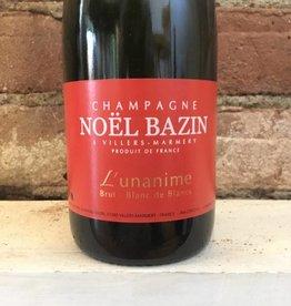 """NV Bazin Blanc de Blanc """"L'unanime"""" Brut, 375ml"""