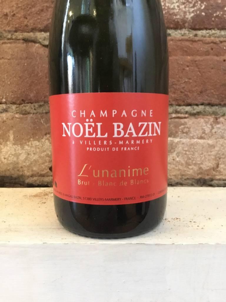 """NV Bazin Blanc de Blanc """"L'unanime"""" Champagne Brut, 375ml"""