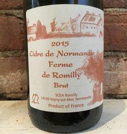 2015 Ferme de Romilly Cidre Brut, 750ml