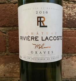 2016 Chateau Riviere Lacoste Graves Blanc, 750ml