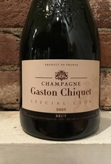 "2009 Gaston-Chiquet Champange Brut ""Special Club Millesime"", 750ml"