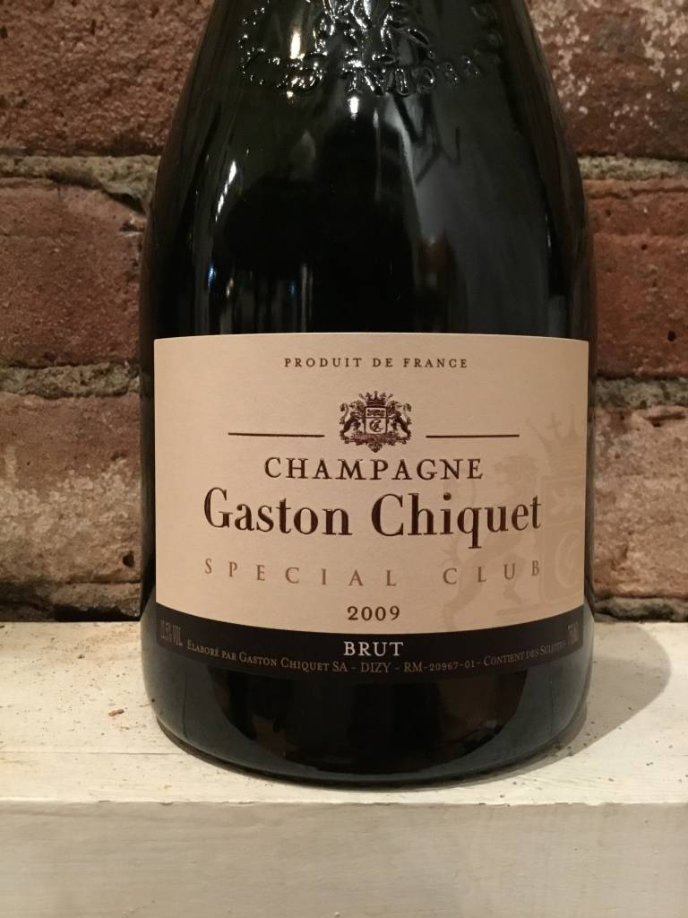 "2009 Gaston-Chiquet Champagne Brut ""Special Club Millesime"", 750ml"