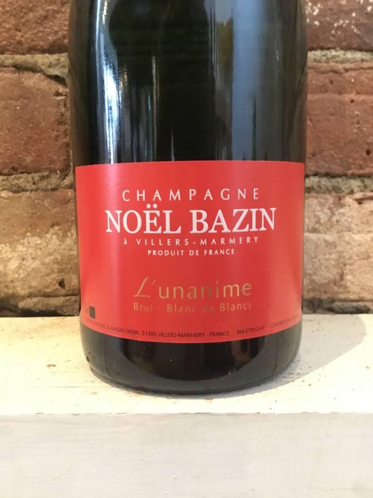 """NV Bazin Blanc de Blanc """"L'unanime"""" Champagne Brut, 750ml"""
