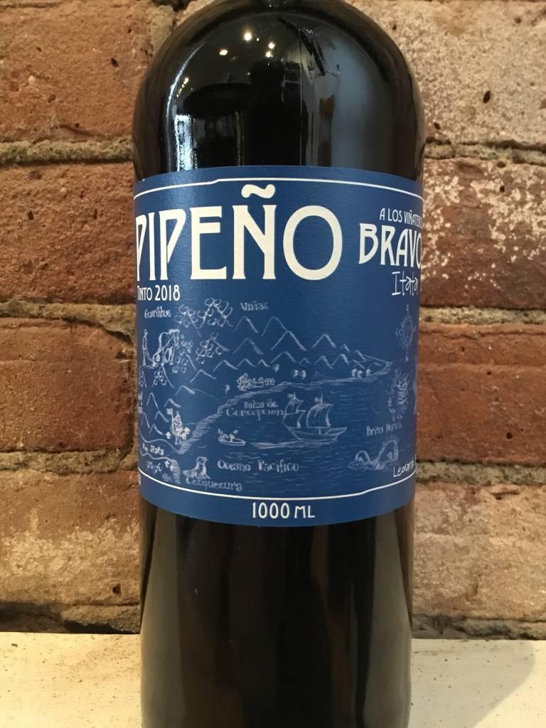 2018 Vinateros Bravos Pipeno Tinto, 1L