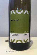 2016 L & R Kox Riesling 1er Grand Cru Schwebsange Kolteschberg, 750ml