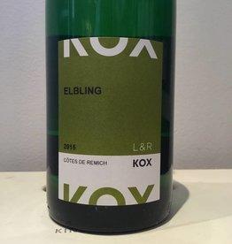 2015 L & R Kox Elbling Cotes de Remich, 1L