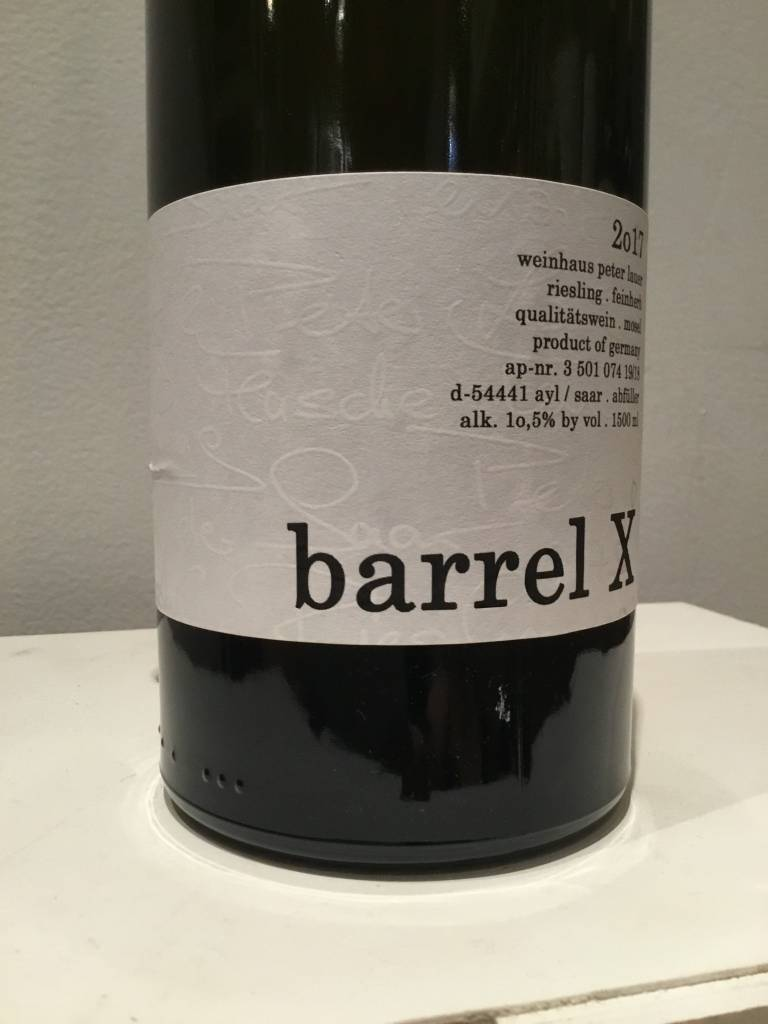 """2017 Lauer """"Barrel X"""" Riesling, 1.5L"""