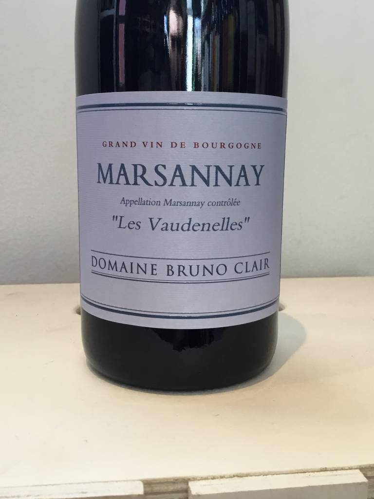 "2015 Bruno Clair Marsannay Rouge ""Les Vaudenelles"", 750ml"