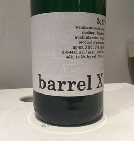 "2017 Lauer ""Barrel X"" Riesling, 750ml"