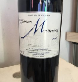 2016 Chateau Massereau Bordeaux Superior Rouge,750ml