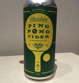 Shacksbury Ping Pong Cider, 16oz