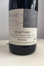 2018 Les Vins Contes Poivre et Sel VDF Rouge,750ml